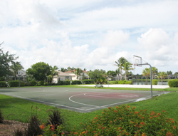 Basket Ball Court at Reflection Lakes in Fort Myers Florida