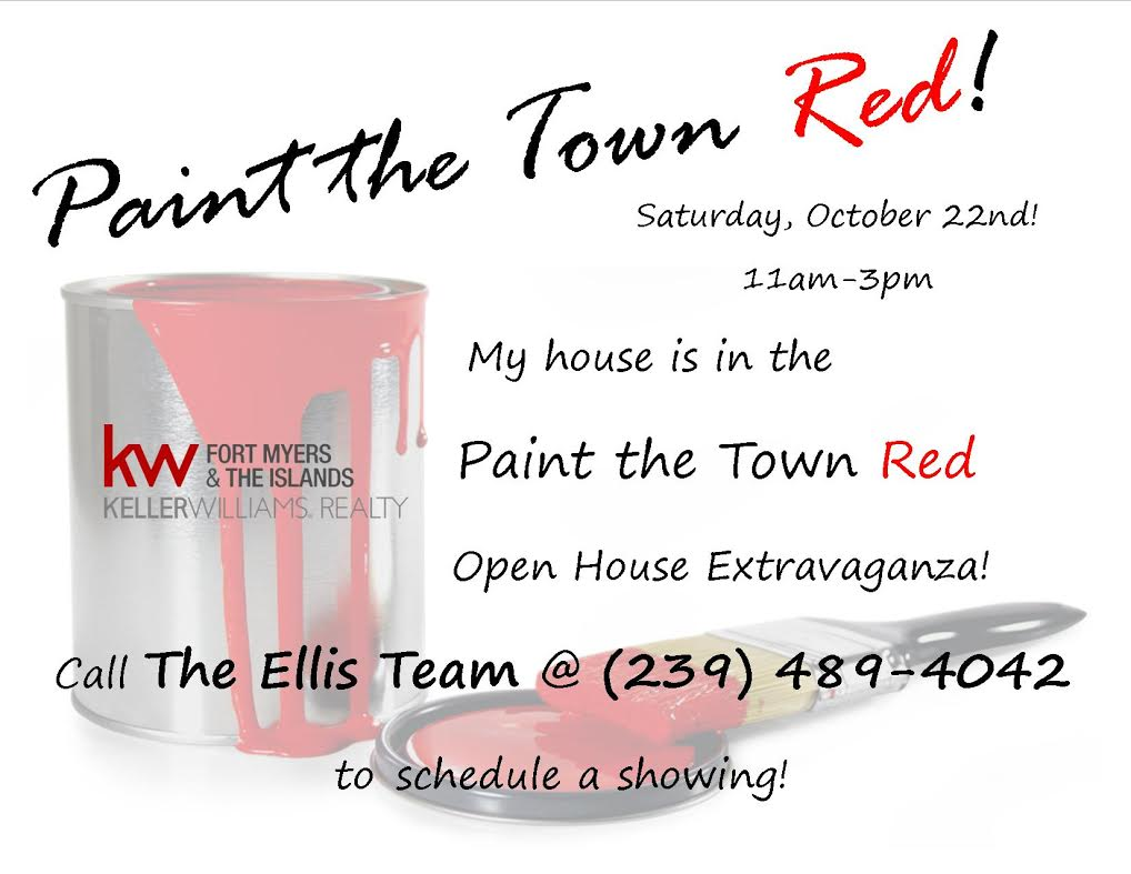 Keller Williams Paint the Town Red Open House Extravaganza