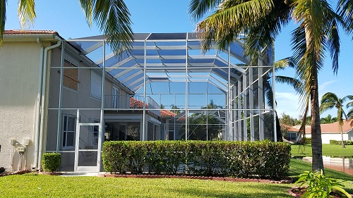 Southwest Florida Real Estate After Hurricane Irma Newer Pool Cage
